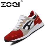 Jual Zoqi Retro Sport Sepatu Pria Fashion Athletics Berjalan Sepatu Merah Intl Zoqi Grosir
