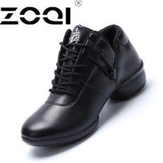 Spesifikasi Zoqi Lembut Outsole Napas Sepatu Tari Wanita Sports Fitur Dance Sneakers Sepatu Wanita Sepatu Dansa Bergerak Kesenangan Hitam Intl Terbaik