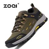 Jual Zoqi Musim Panas Pria Fashion Sneakers Outdoor Olahraga Kasual Bernapas Nyaman Sepatu Hijau Army Intl Zoqi Murah