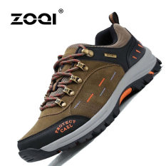Review Zoqi Musim Panas Fashion Pria Sepatu Santai Sepatu Olahraga Luar Ruangan Sejuk Nyaman Dril International