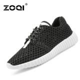 Promo Zoqi Musim Panas Wanita Fashion Sepatu Sepatu Olahraga Kasual Bernapas Nyaman Sepatu Hitam Zoqi Terbaru
