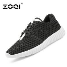 Beli Zoqi Musim Panas Wanita Fashion Sepatu Sepatu Olahraga Kasual Bernapas Nyaman Sepatu Hitam Zoqi Dengan Harga Terjangkau