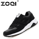 Spesifikasi Zoqi Unisex Fashion Sneaker Pria Dan Wanita Sepatu Kasual Olahraga Hitam Intl Dan Harga