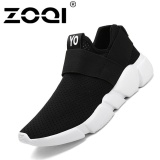Harga Zoqi Unisex Running Shoes Cahaya Bernapas Sneaker Olahraga Shoes Hitam Intl Termahal
