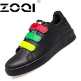 Spesifikasi Zoqi Wanita Fashion Sepatu Sepatu Simple Sch**l Yonuger Berjalan Sepatu Hitam Online