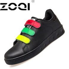 Beli Zoqi Wanita Fashion Sepatu Sepatu Simple Sch**l Yonuger Berjalan Sepatu Hitam Online Murah