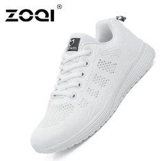 Jual Zoqi Women S Fashion Mesh Bernapas Sneaker Putih Int L Intl Zoqi Branded