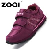 Penawaran Istimewa Zoqi Wanita Fashion Sneaker Mama Sepatu Berjalan Sepatu Ungu Terbaru