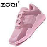 Spesifikasi Zoqi Wanita Fashion Sneaker Sport Shoes Cahaya Menjalankan Rhoes Pink Int L Intl Lengkap Dengan Harga