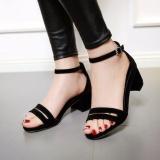 Beli Zora Shoes Bigh Heels Coak Hitam Oem