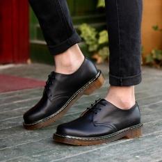 Jual Zoro 2017 Pecinta Martens Sepatu Desainer Terkenal Retro Full Grain Leather Pria Sepatu Kasual Hitam Intl Branded Murah