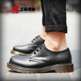 Diskon Zoro 2017 Asli Kedatangan Baru Unisex 1461 Kulit Asli Sepatu Pria Sepatu Formal Bisnis Kasual Martin Boots Kasut Lelaki Hitam Intl Akhir Tahun