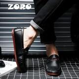 Diskon Zoro Fashion Musim Semi Musim Gugur Gaya Lembut Moccasins Pria Loafers Asli Berkualitas Tinggi Kulit Sepatu Pria Oxford Flat Driving Shoes Hitam Intl Branded