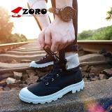 Jual Beli Online Zoro Mode Liar Pasangan Boots Cow Split Sepatu Ankle Martin Boots Hangat Wanita Sepatu Bot Musim Dingin Sepatu Wanita Motor Boots Pasangan Tapi Hitam Intl
