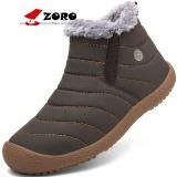Jual Zoro Mewah Brand Fashion Pria Dan Wanita Musim Dingin Salju Boots Ankle Tebal Plush Hangat Slip On Boots Kausal Sepatu Ukuran 36 44 Brown Intl Satu Set
