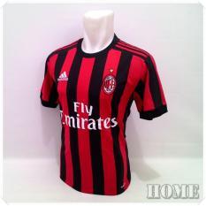 Toko Zos Jersey Bola Kaos T Shirt Bola Ac Milan Home 2017 2018 Yang Bisa Kredit