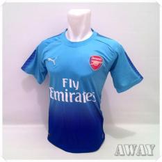 Diskon Zos Jersey Bola Kaos T Shirt Bola Arsenal Away 17 18
