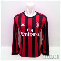 Harga Zos Jersey Bola Kaos T Shirt Bola Milan Home Panjang Zero One Store Dki Jakarta