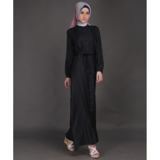 Zoya Dress Muslimah - Hadid Dress Black