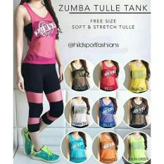 ZUMBA TULLE TANK - OUTER