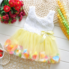Diskon Zuncle Little Anak Perempuan Princess Dress Kuning Zuncle