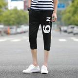 Beli Zuncle Men S Jogging Celana Celana Casual Shorts Hitam Terbaru