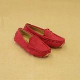 Harga Zuucee 2016 Boy And Gadis S Fashion Jahit Sepatu Flat Shoes Merah Terbaru