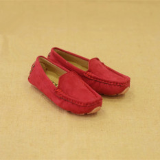 Review Toko Zuucee 2016 Boy And Gadis S Fashion Jahit Sepatu Flat Shoes Merah Online