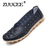 Dimana Beli Zuucee Bird S Nest Lubang Sepatu Datar Sandal Sandal Musim Panas Sepatu Peas Sepatu Kulit Kasual Wanita Mid Size Code Ibu Sepatu Hitam Intl Zuucee