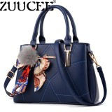 Beli Zuucee Fashion Ladies Handbags Pu Leather Shoulder Lady Bags Messenger Big Leisure Satchel For Women Intl Cicil