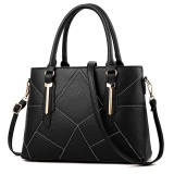 Beli Zuucee Wanita Fashion Handbags Pu Leather Shoulder Lady Tas Messenger Big Leisure Handbag Untuk Wanita Hitam Intl Zuucee