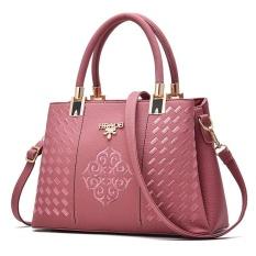 Toko Zuucee Wanita Fashion Handbags Pu Leather Shoulder Lady Tas Messenger Big Leisure Handbag Untuk Wanita Pink Intl Terlengkap
