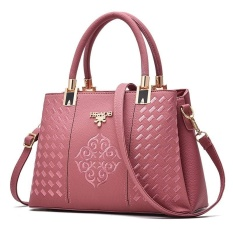 Beli Zuucee Wanita Fashion Handbags Pu Leather Shoulder Lady Tas Messenger Big Leisure Handbag Untuk Wanita Pink Intl Zuucee