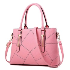 Toko Zuucee Wanita Fashion Handbags Pu Leather Shoulder Lady Tas Messenger Big Leisure Handbag Untuk Wanita China Pink Zuucee Tiongkok