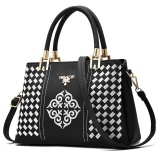 Zuucee Wanita Fashion Handbags Pu Leather Shoulder Lady Tas Messenger Big Leisure Handbag Untuk Wanita Putih Intl Asli