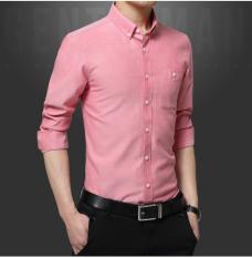 Beli Zysk Pria Formal Kemeja Lengan Panjang Pink 65211 Intl Online Murah