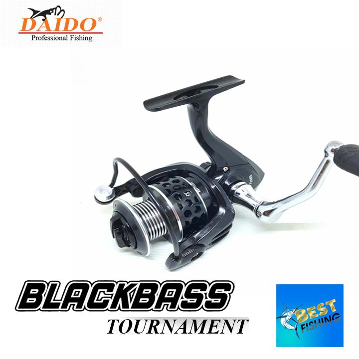 REEL PANCING DAIDO BLACKBASS TOURNAMENT 11 BEARING ONE WAY ALUMINIUM HANDLE