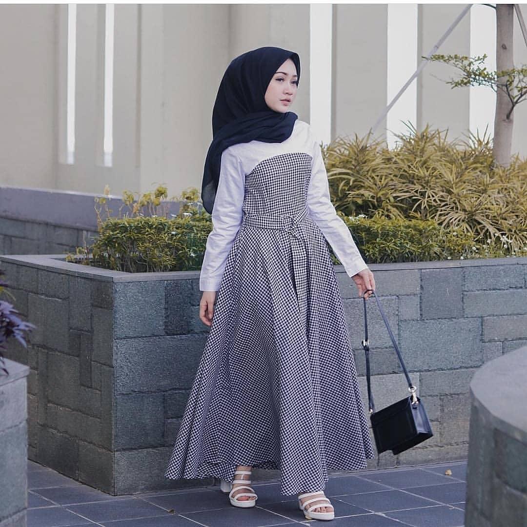Baju Muslim Wanita Gamis Modern Terbaru Lazada Co Id