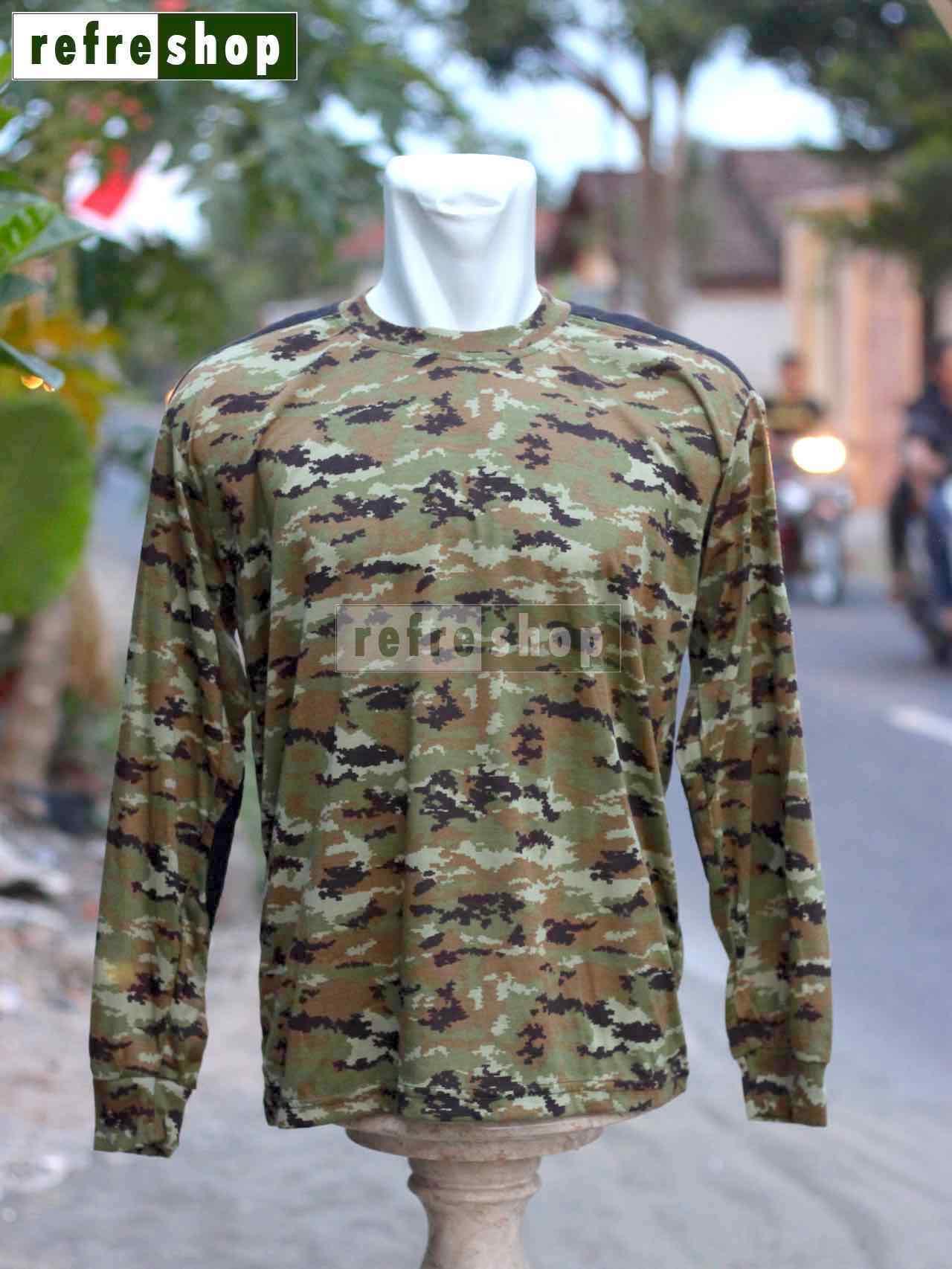 Kaos TNI Militer Army KLHM1 Tentara KopassusIDR35000. Rp 42.500