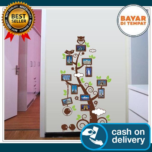 Tree Frame JM7202 - Stiker Dinding / Wall Sticker / Wall Paper Dinding COD