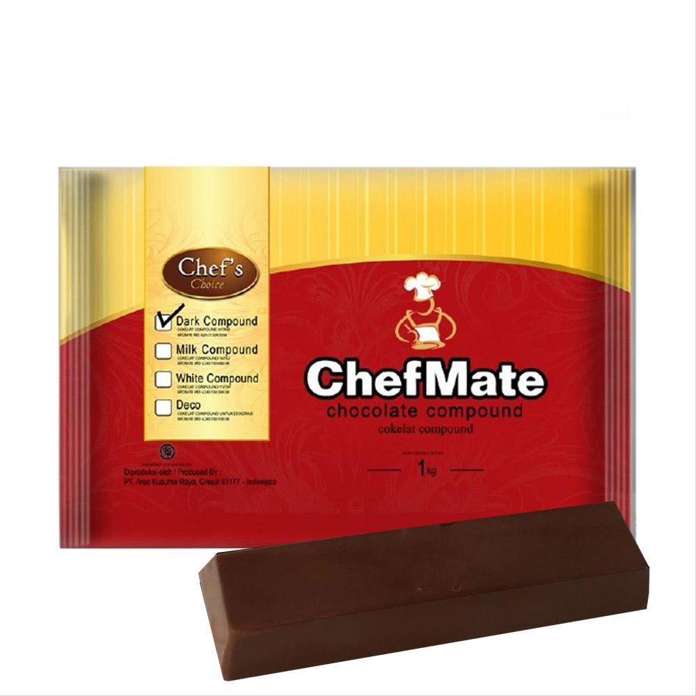 Chefmate coklat batang 167gr - Dark
