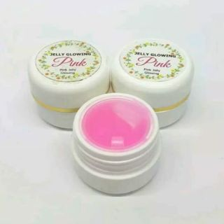 JELLY GLOWING PINK AMPUH CREAM PINK JELLY GLOWING JELLY PINK GLOWING 15 MEMUTIHKAN MENCERAHKAN WAJAH thumbnail
