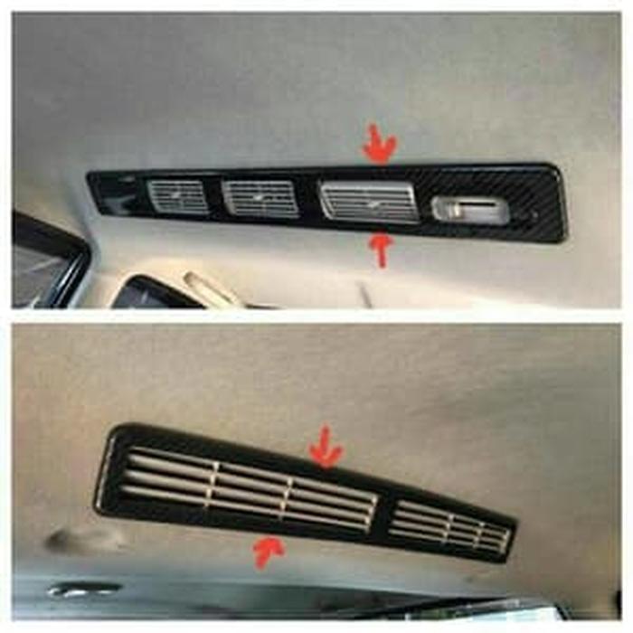 Panel Carbon AC Blower Belakang Grand Avanza/Xenia