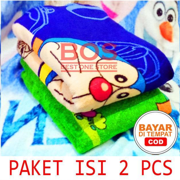 Selimut Karakter Top Quality Paket isi 2 Pcs - Random