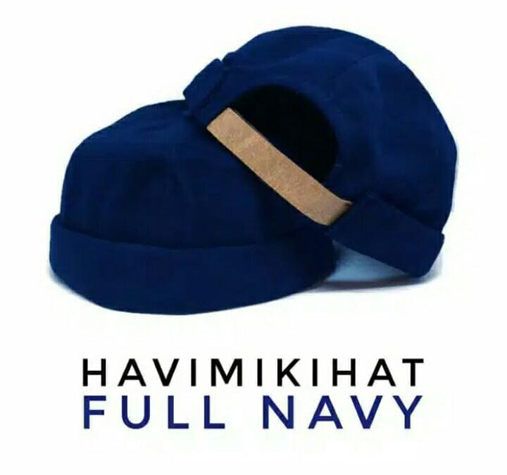 Topi Beanie Peci Kopiah Miki Hat Pecis Cap Kupluk Muslim Hijrah Islam By My Love