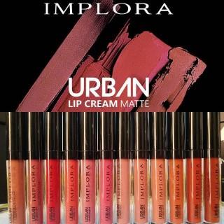 Lip cream Implora Matte Lipcream Original Promo Lipstik Tahan Lama Lipstick Anti Air Murah thumbnail