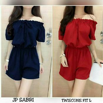 inbox fashin jumsuit sabri 01 / baju import / Baju Wanita / Blouse Korea / Atasan