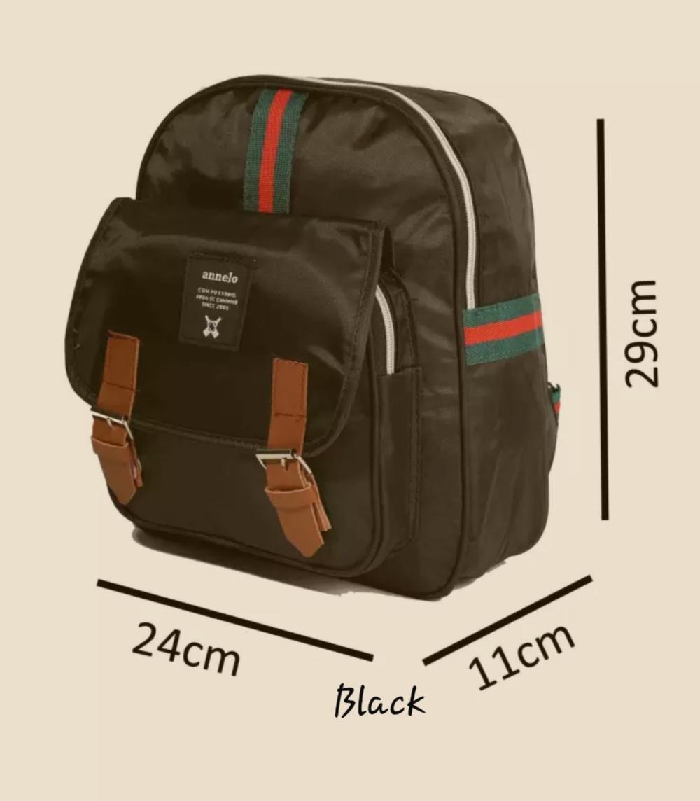 Ilham hafizh store [BISA COD] RL24 - TAS RANSEL ANELLO SMALL STYLISH BACKPACK BAHAN LONGCHAMP TAS PUNGGUNG IMPOR GOOD QUALITY