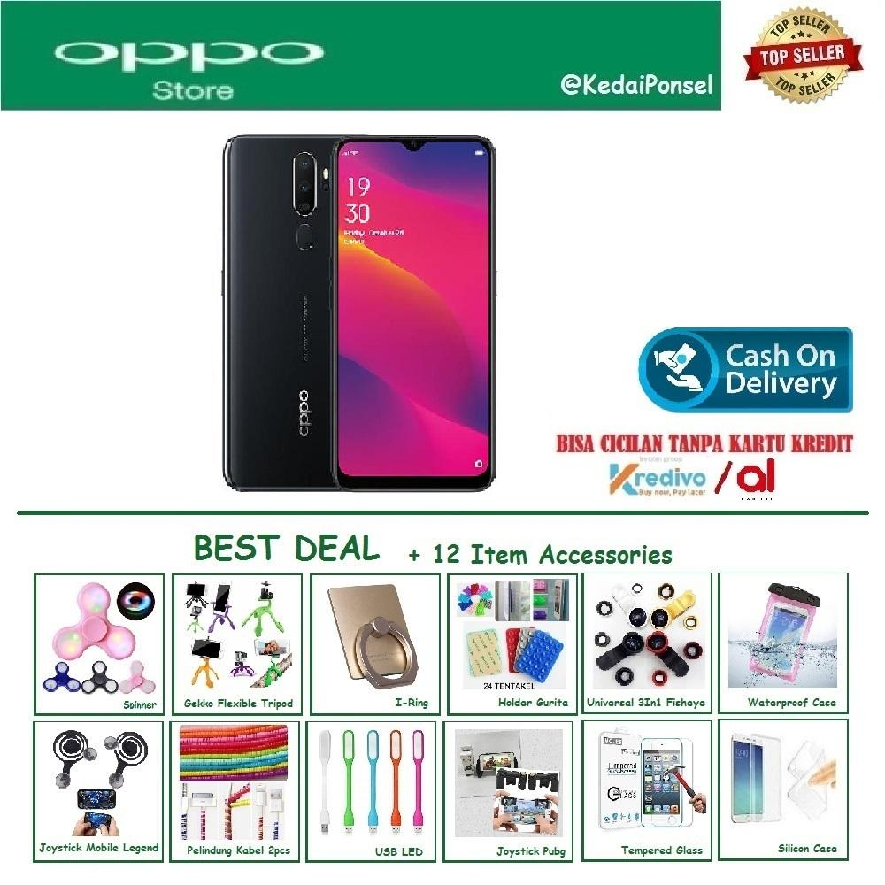 OPPO A5 2020 [3/64GB] - Best Deal +12 Item Accessories [PAKE VOUCHER POTONGAN]