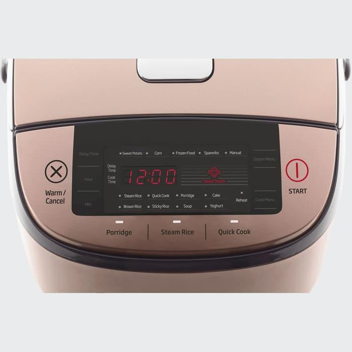 BEKO Rice Cooker Digital Stainless 1.8L - RCM67023R / rice cooker murah / rice cooker bagus